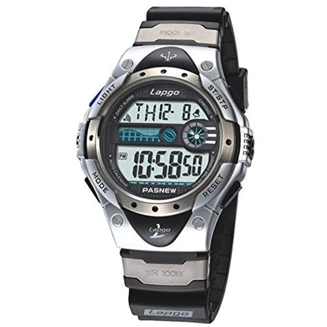 boys watches lcd digital watches waterproof 100m sports