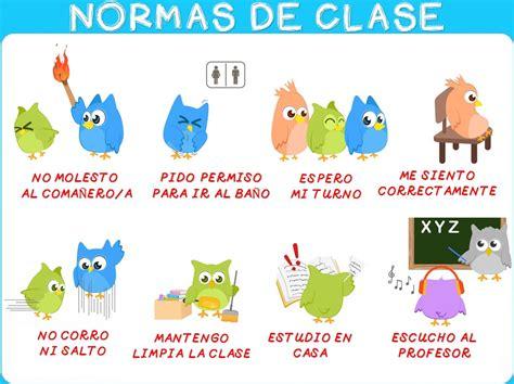 decorar traducido al ingles normas de clase 3 imagenes educativas