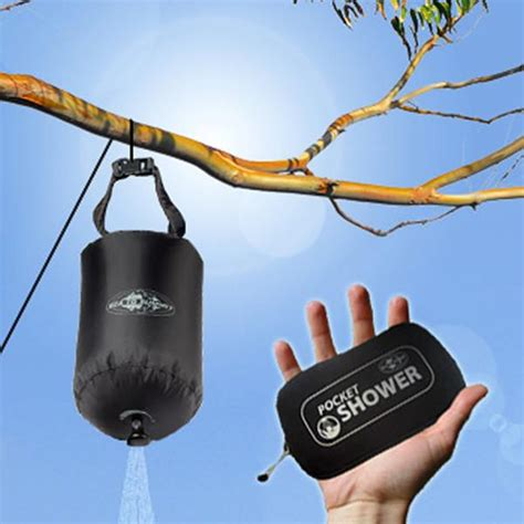 Sea To Summit Pocket Shower by Sea To Summit Portable Pocket Shower Pack Light