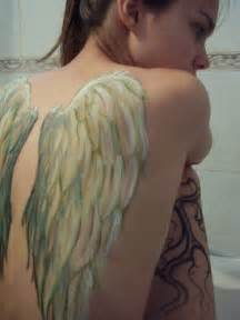 Angel wing back tattoos awesome lifestyles