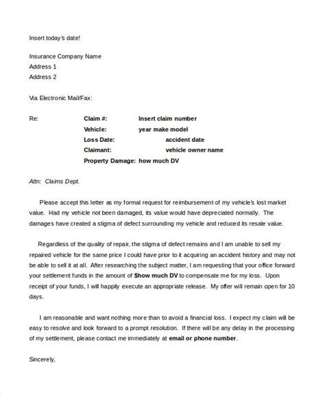 Insurance Valuation Letter Template Demand Letter 15 Free Word Pdf Documents Free Premium Templates