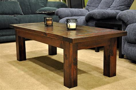Wood Coffee Table Plans White Tryde Coffee Table Diy Projects