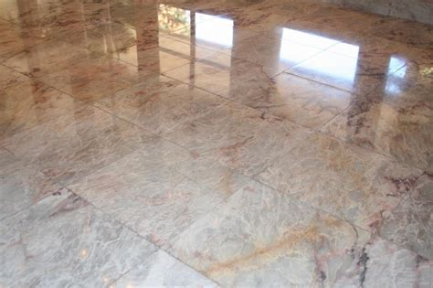 floor polishing orange travertine marble slate limestone