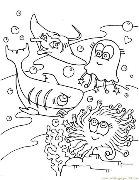 coloring pictures of fish in the ocean free printable ocean life coloring pages coloring home