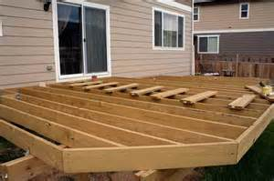 Building A Patio Deck by Low Profile Deck Gardens Ideas And Outdoor Spaces