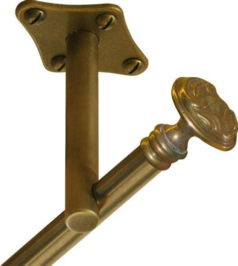 gardinenstange mit nageln einl 228 ufige vorhangstange gardinenstange in messing