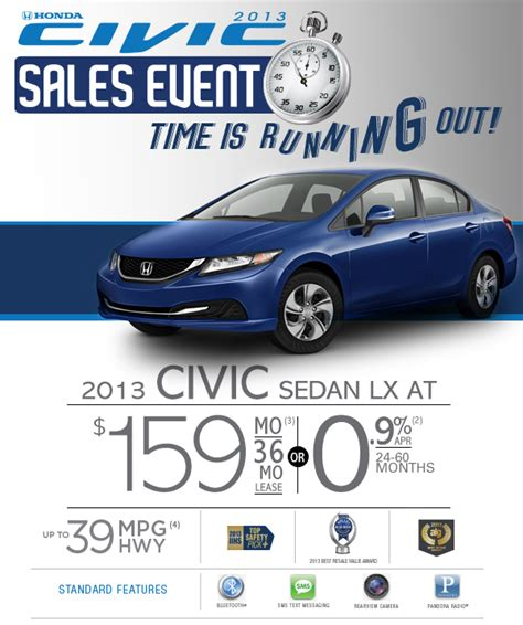 honda civic sales event fisher honda boulder co