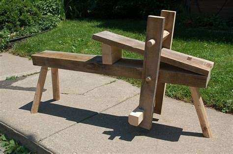 drawing horse bench plans 17 best images about wwking shaving horse on pinterest workshop fine woodworking