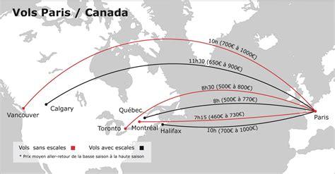 Billet d'avion pas cher vers le Canada Vols Low Cost