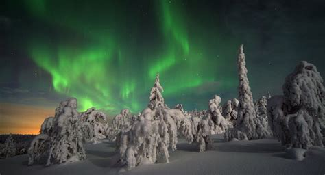lapland finland northern lights northern lights or borealis best places and to