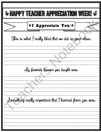 appreciation letter to a from student appreciation writing from the high tech on