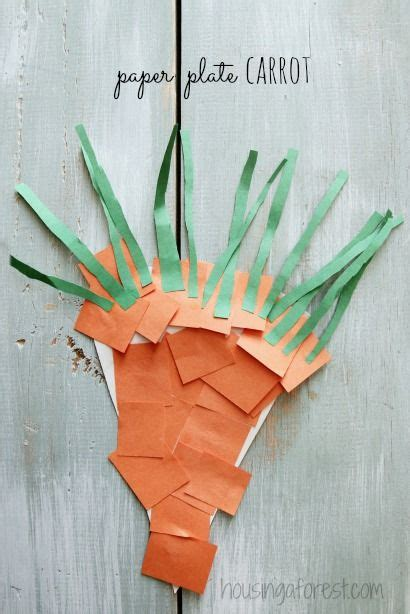 simple ideas for creating a simple preschool carrot craft link to lots of ideas for