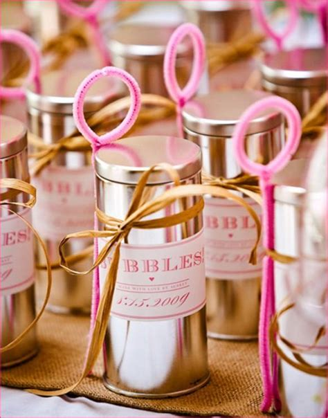 Handmade Wedding Favor Ideas - unique summer wedding ideas creative wedding ideas