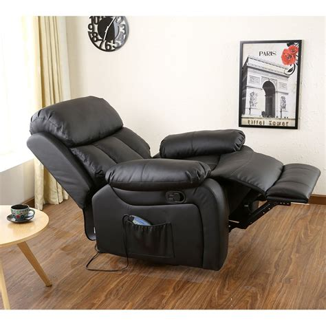 armchair massage leather massage armchair with footrest ijoy reveal human