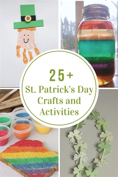 st patricks day crafts  activities  idea room