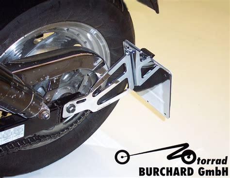 Motorrad Burchard by Seitlicher Kennzeichenhalter Mit T 220 V Teilegutachten Nach