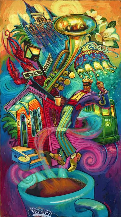 flavor of new orleans terrance osborne art