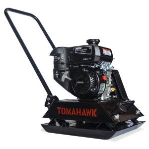 tomahawk 6 hp gas plate compactor for asphalt soil