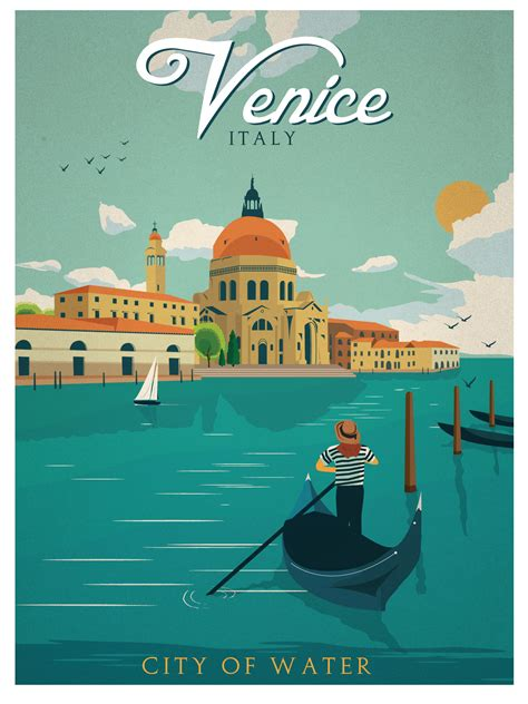 Plakat Retro by Vintage Travel Posters Barcelona Recherche