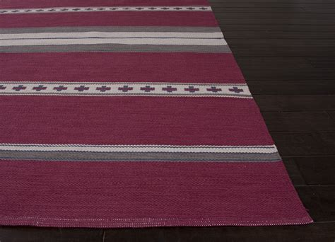tribal pattern pink and gray jaipur rugs flatweave tribal pattern pink gray cotton area