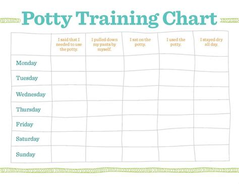 potty reward chart template toilet log sheet pictures to pin on
