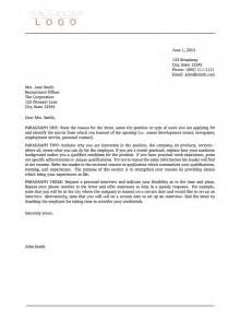 cover letter for format templates 187 cover letters