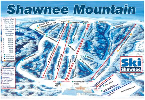 alpine mountain skimap org shawnee mountain ski trail map east stroudsburg