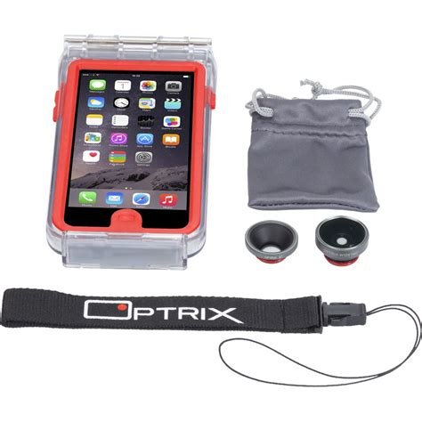 optrix by glove 2 lens kit for iphone 6 6s 9476701 b h