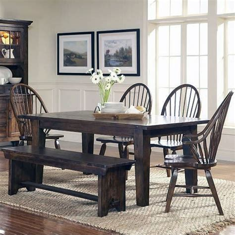 country style dining table with bench www dobhaltechnologies com farmhouse kitchen table and