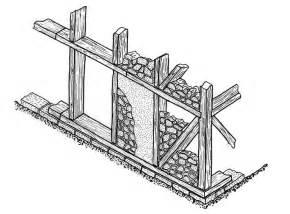 opus craticium reconstruction sketch of a combination