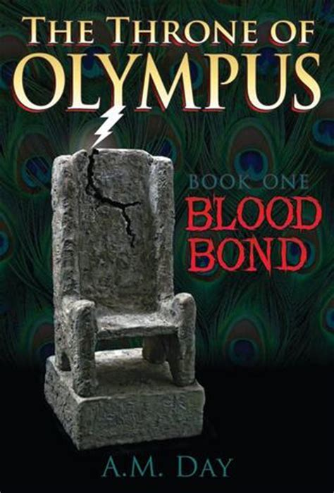 blood of books the throne of olympus blood bond 1 by a m day