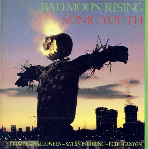 bad moon rising cd review bad moon rising by sonic youth rebel rebel