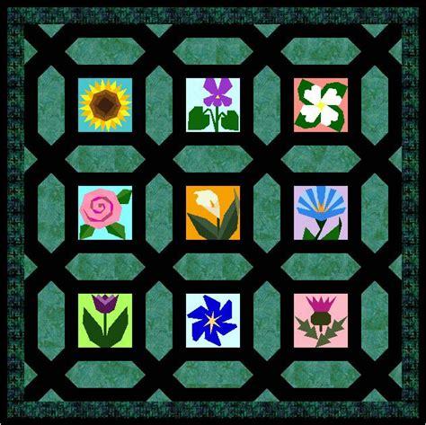 Garden Maze Quilt Block Pattern by Miniature Garden Maze Free Paper Piecing Quilt Block