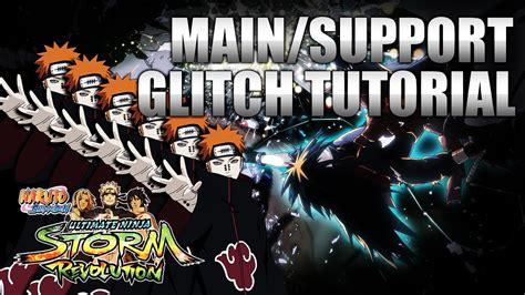 tutorial naruto revolution naruto storm revolution main support glitch character