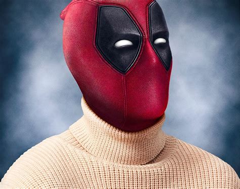new deadpool deadpool celebrates sweater day in new poster