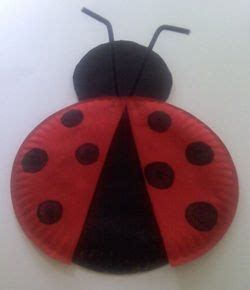 Ladybug Paper Plate Craft - 103 best bugs animal crafts images on