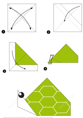printable origami turtle instructions how to make an origami turtle step by step instructions