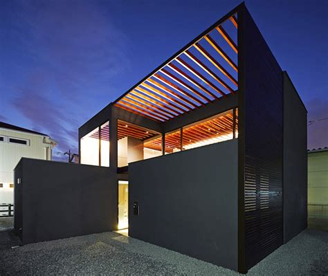 pergola house minimalist pergola house has an open trellis roof that