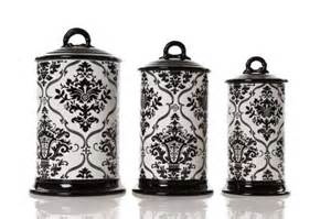 Black And White Kitchen Canisters by Black And White Kitchen Decor