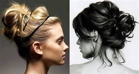 messy bun for long hair how to messy bun hair newhairstylesformen2014 com