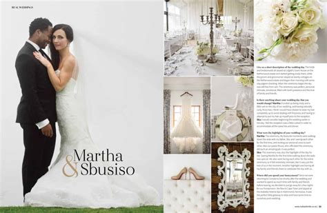 wedding magazine album published work