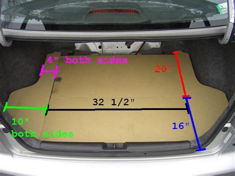 honda civic spare tire size diy custom trunk ii with access to spare tire honda