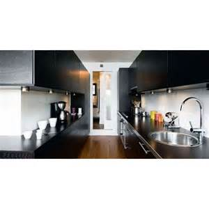 la cuisine couloir implantation d une cuisine tout en