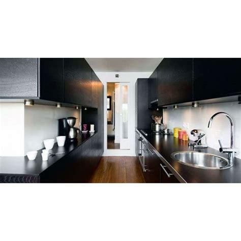 plan cuisine en parall鑞e la cuisine couloir implantation d une cuisine tout en