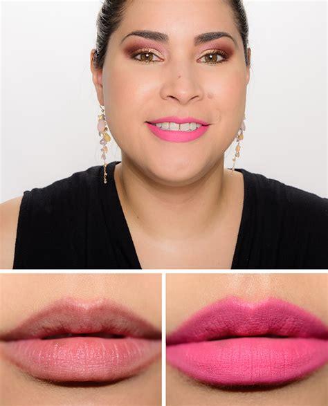 matte pink mac nutcracker sweet pink retro matte kit review photos