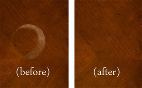How To Remove Watermarks From Wood Furniture by How To Remove Water Marks From Wood