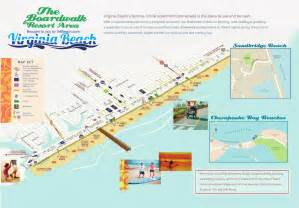 Virginia Beach Map by Virginia Beach Boardwalk Hotel Map Pictures To Pin On