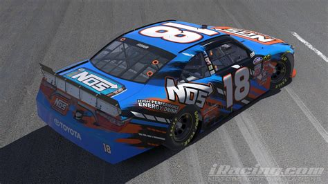 energy drink 2016 2016 kyle busch nos energy drink by jacob fisher trading