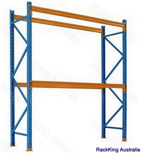 Surplus Racking by Used Dexion Pallet Racking Frames 3m High Rack Shelf
