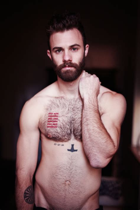 tattoo chest hair quickie kiel mannix manhunt daily